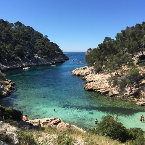 The Sea The Beaches The Calanques In Cassis