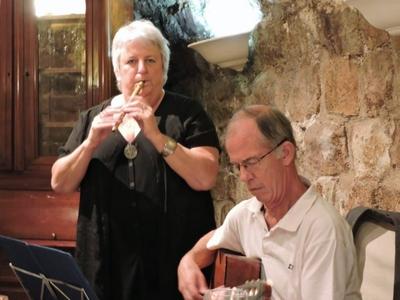 Récital de chant et musique celtique cornemuse, flûte et guitare