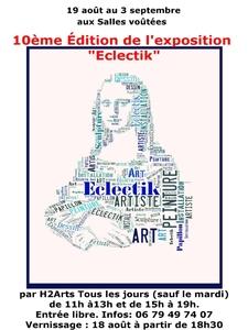 Eclectik, 10 ème édition par l'association H2Arts