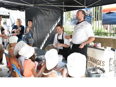 Les cours de cuisine pour les enfants - les Vendanges Étoilées