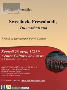 Concert classique - De Sweelinck à Frescobaldi, du nord au sud