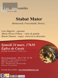 Concert classique - Stabat Mater