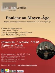 Concert classique - Poulenc au Moyen-Age