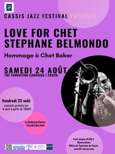 Cassis Jazz Festival : Stéphane Belmondo - Love for Chet