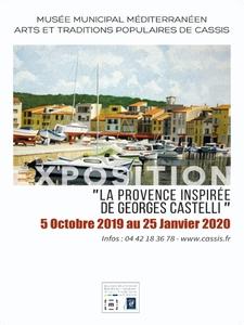 """Exposition """"La Provence inspirée de Georges Castelli"""""""