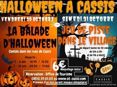 Balade contée d'Halloween pour les enfants de 7 à 10 ans