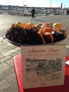 Restaurant Monsieur Brun - Cassis, Frankreich