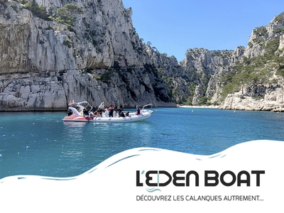 L'Eden Boat - Cassis, Francia