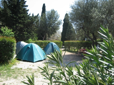 Les Cigales Camping sitesCassis, France