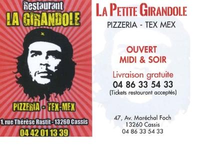 Restaurant La Girandole et la Petite Girandole - Cassis, France
