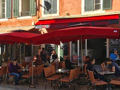 Bar de la Fontaine - Cassis, Francia