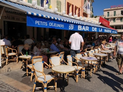 The Marine bar - Cassis, France