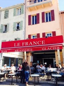 Bar Le France - Cassis, France