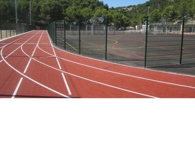 Service des sports (stade Omnisport des Gorguettes) - Cassis, France