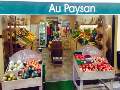 To the peasant of Cassis Fruits and vegetables (retail- - Cassis, France