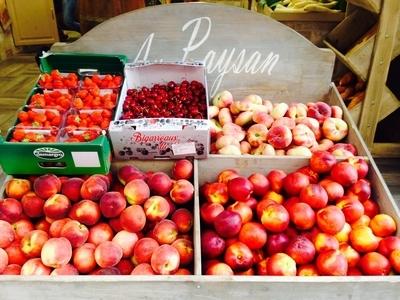 Au paysan de Cassis Fruits et légumes (Détail) - Cassis, France