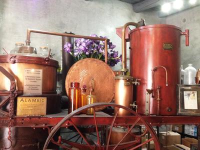 L'eau de Cassis Parfumerie (Détail) - Cassis, France