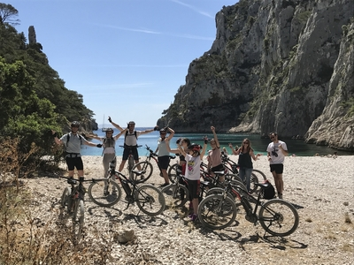 Tour by electrical mountain bike 3H -Calanques national park (intermediate level) - Cassis, France