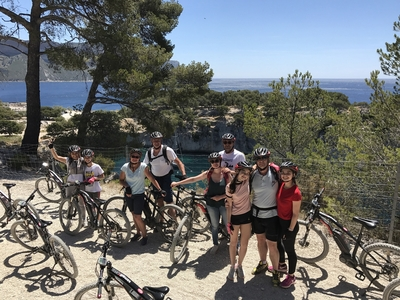 Circuit en VTT électrique 2H - Parc national des Calanques (niveau facile) - Cassis, France