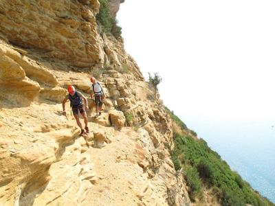 Adventure course: crossing Philemon - Cassis, France