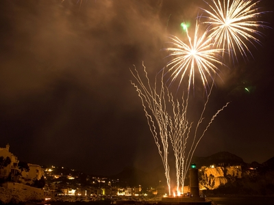 Evening event: guided tour to the doors of the creeks with views of the Fireworks August 15 - Cassis, France