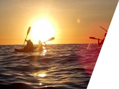 Au coucher de soleil, randonnée en kayak de mer et snorkeling avec le CSLN - Cassis, France