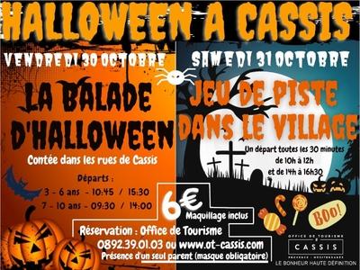 La balade contée d'Halloween pour les enfants de 3 à 6 ans - Cassis, France