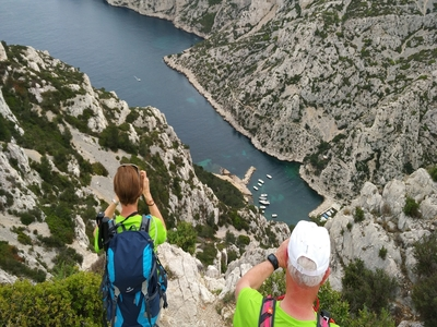 Hiking in the Calanques: The picturesque - the belvedere of Sugiton and Morgiou - Cassis, France